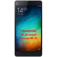 Xiaomi Mi 4i Mi Account