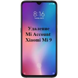 Xiaomi Mi 9 Mi Account