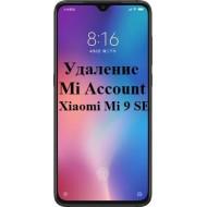 Xiaomi Mi 9 SE Mi Account