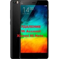 Xiaomi Mi Note Mi Account