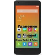 Xiaomi Redmi 2 Prime Mi Account