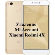 Xiaomi Redmi 4X Mi Account
