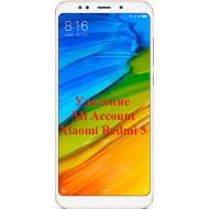 Xiaomi Redmi 5 Mi Account