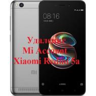 Xiaomi Redmi 5a Mi Account
