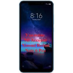 Xiaomi Redmi Note 6 Pro Mi Account