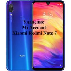 Xiaomi Redmi Note 7 Mi Account