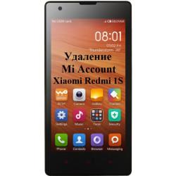 Xiaomi Redmi 1S Mi Account