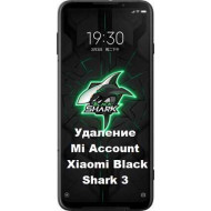Xiaomi Black Shark 3 Mi Account