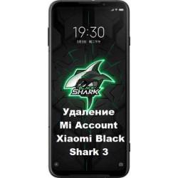 Xiaomi Black Shark 3 Mi Account