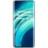Xiaomi Mi 10 Mi Account