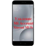 Xiaomi Mi 5c Mi Account