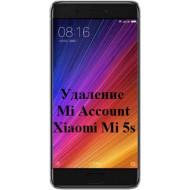 Xiaomi Mi 5s Mi Account
