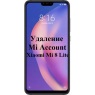 Xiaomi Mi 8 Lite Mi Account
