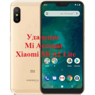 Xiaomi Mi A2 Lite Mi Account