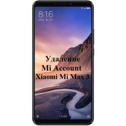 Xiaomi Mi Max 3 Mi Account