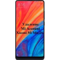 Xiaomi Mi Mix 2S Mi Account