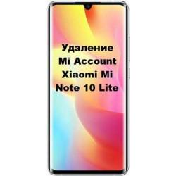 Xiaomi Mi Note 10 Lite Mi Account