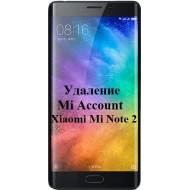 Xiaomi Mi Note 2 Mi Account