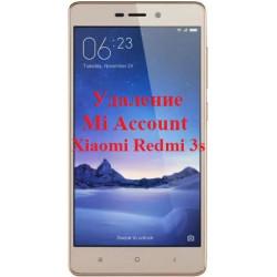 Xiaomi Redmi 3s Mi Account