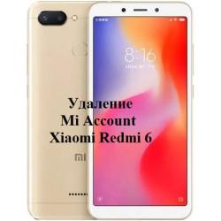 Xiaomi Redmi 6 Mi Account