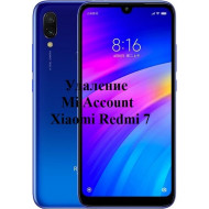 Xiaomi Redmi 7 Mi Account