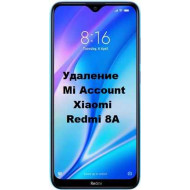 Xiaomi Redmi 8A Mi Account