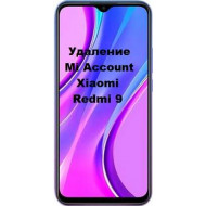 Xiaomi Redmi 9 Mi Account