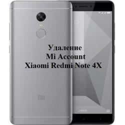 Xiaomi Redmi Note 4X Mi Account