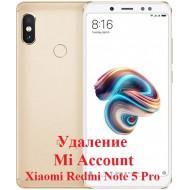 Xiaomi Redmi Note 5 Pro Mi Account