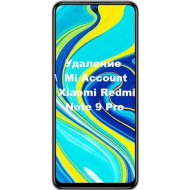 Xiaomi Redmi Note 9 Pro Mi Account