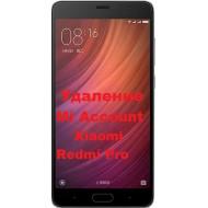 Xiaomi Redmi Pro Mi Account